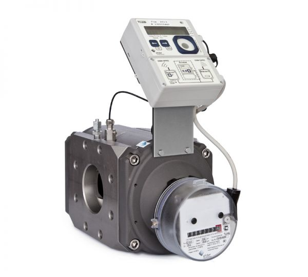 Счетчик газа марки СГ-16МТ-1600-2  Qmax=1600= м3/ч; Рmax=16 кг/см3 Ду=200мм