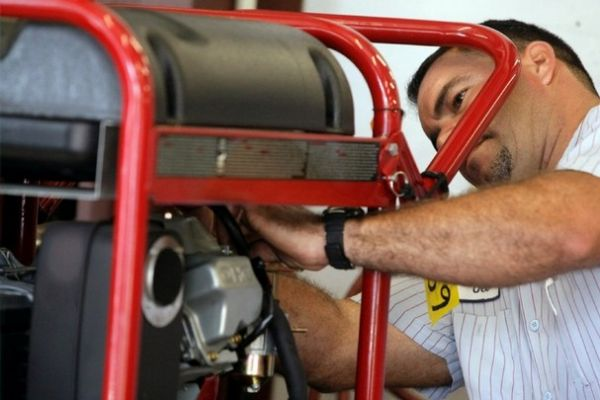 Ремонт стартера ручного бензогенератора своими руками фото
