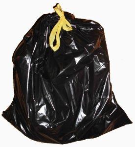 Мешки пакеты для мусора с завязками.