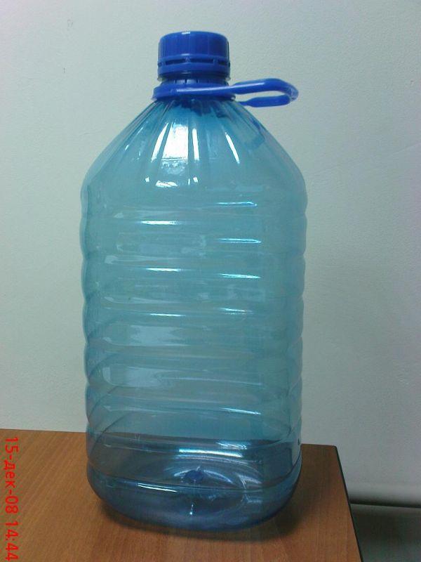 Пятилитровая пластиковая бутылка