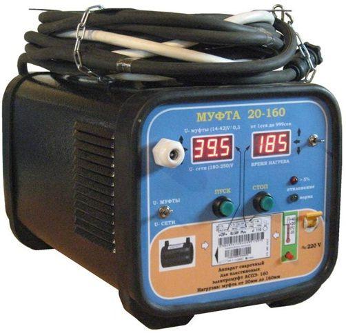 Аппарат для электросварных муфт своими руками