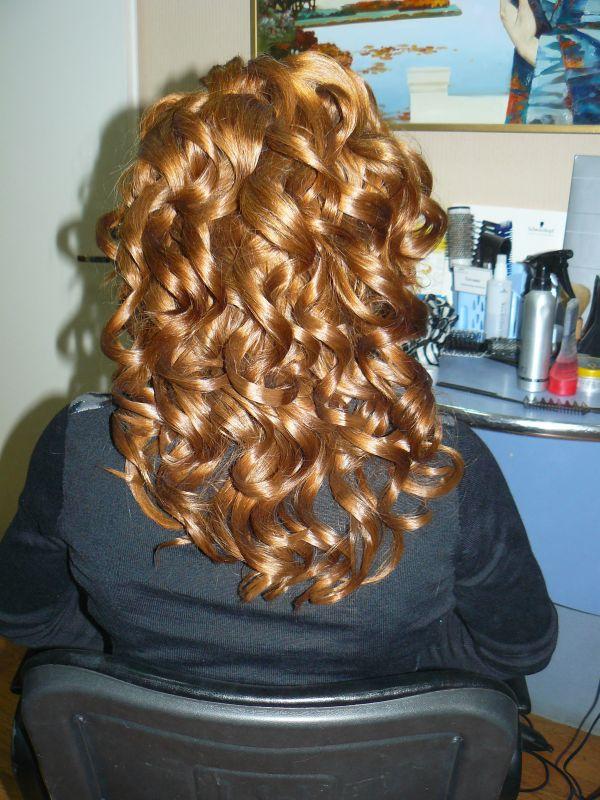 элементы прически на длинные волосы