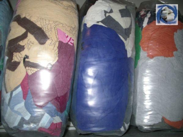 Ветошь лоскут Трикотаж цветной В основном майки, футболки, трико...