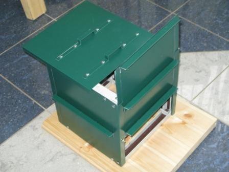 Ящик для компоста из металла своими руками