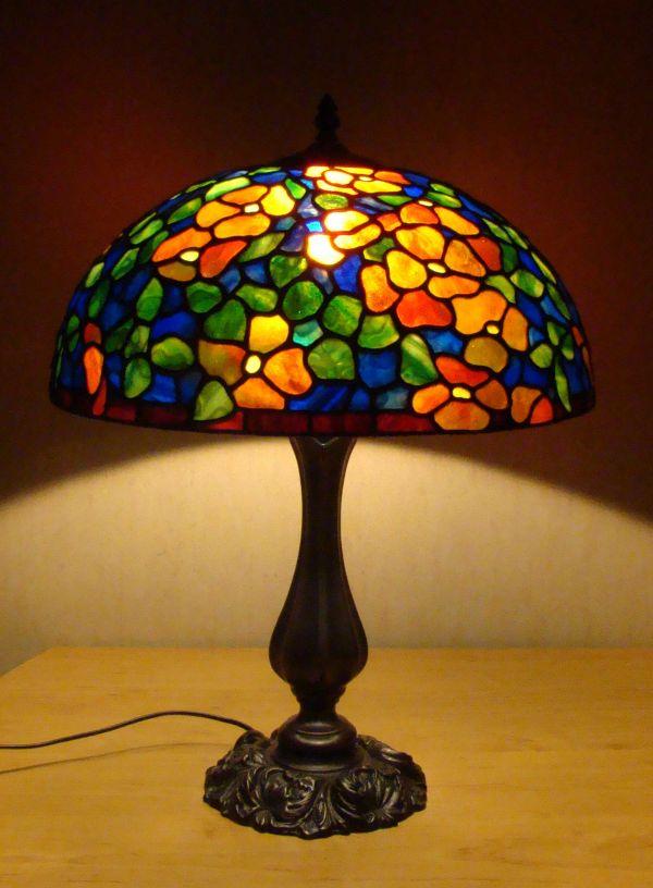 Стекло для лампы тиффани