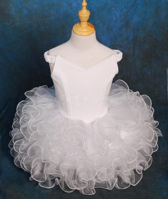 Как сшить короткое пышное платье