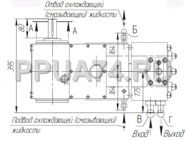 Схема насоса 1.1ПТ25Д1М2