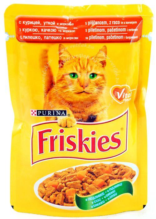 Жидкий корм для кошек