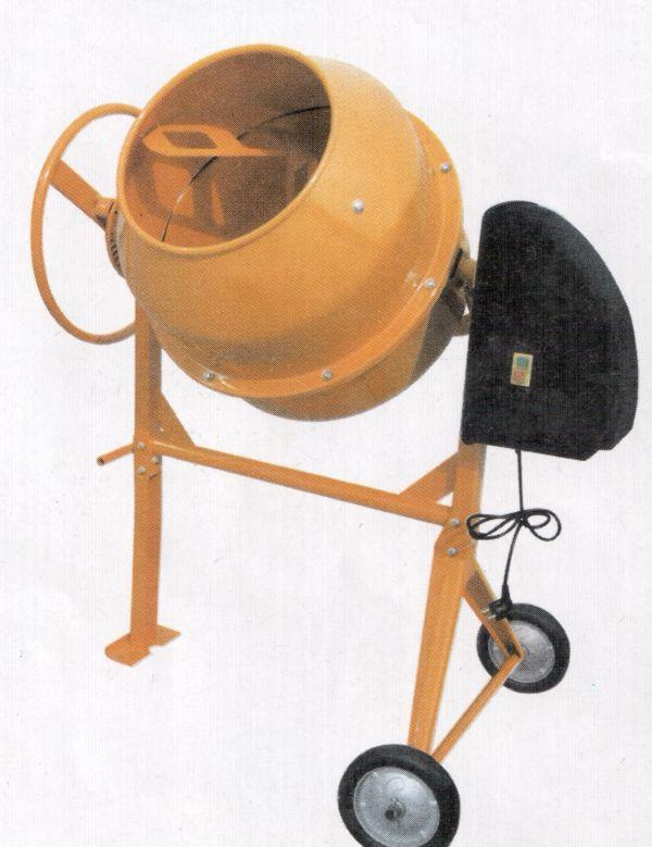 Гравитационное перемешивание происходит за счет вращающегося барабана, в котором установлены специальные лопасти.