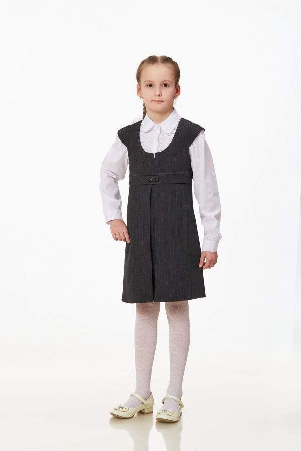 Купить школьную блузку с галстуком для девочки