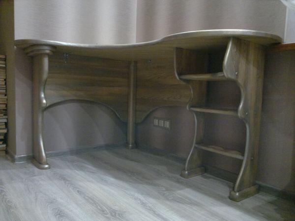 письменный стол Древа Цвет из дуба