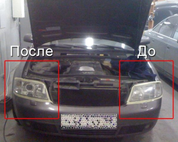 Полировка фар автомобиля, цена, заказать в Минске - Deal.by (ID# 1700065)