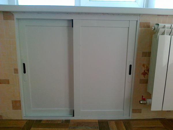 Двери на шкаф из пвх своими руками