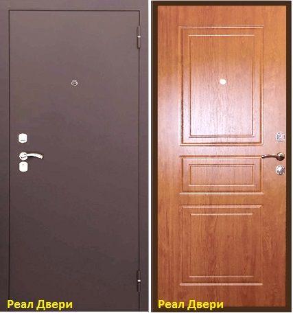 входная дверь Тульская, цвет внутренней мдф панели ВЕЛЮР