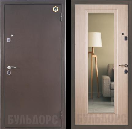 входная дверь Казанская: Бульдорс-33-т с зеркалом