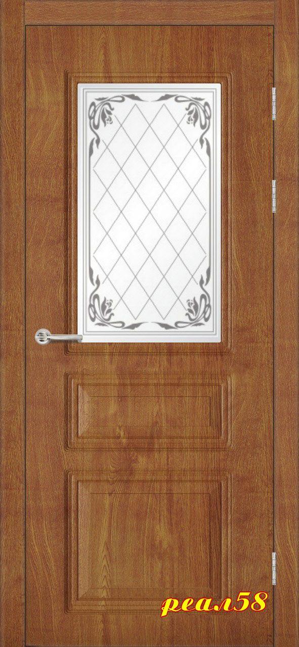 кардинал до, дверь остеклённая с объёмной фрезеровкой