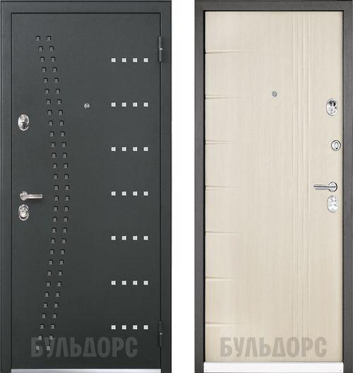 дверь входная Бульдорс 44-R INGO белёный дуб