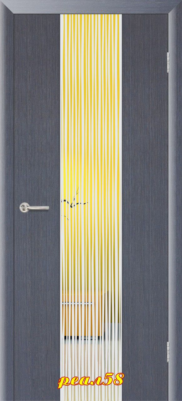 Верба с зеркалом с 2-х сторон, цвет венге