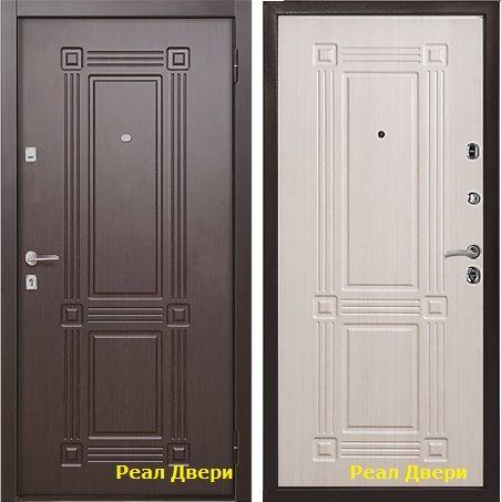 дверь входная Бульдорс 15 мдф накладка с 2-х сторон