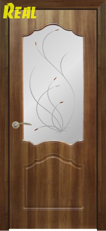Натали до, стекло белое матовое с рисунком