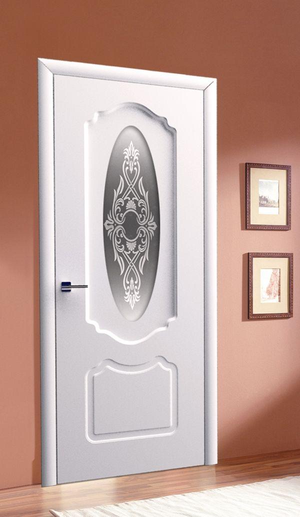 венеция до, стекло белое матовое с рисунком и стразами