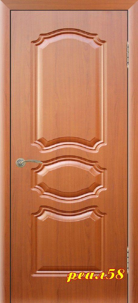 виктория, дверь глухая с объёмной фрезеровкой