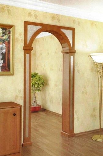 арка люкс мдф межкомнатная с зеркалом и рисунком в пензе