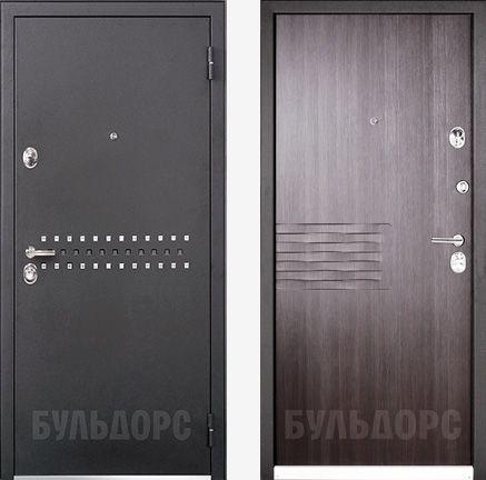 дверь входная Бульдорс 44-R RON ларче тёмный