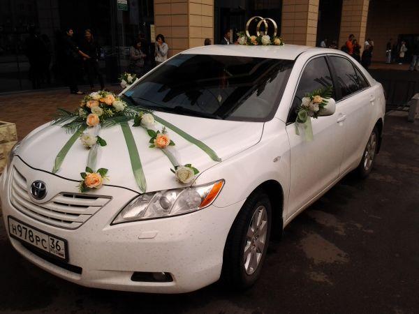 Свадебное украшение для машины № 9