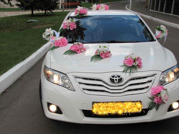 Украшение для свадебной машины № 46