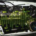 Профессиональная шумоизоляция авто, фотоотчёт Toyota PRADO 150