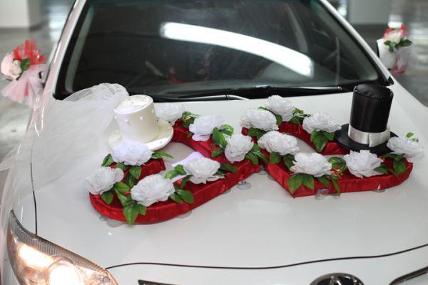 Оригинальные украшения машин на свадьбу своими руками