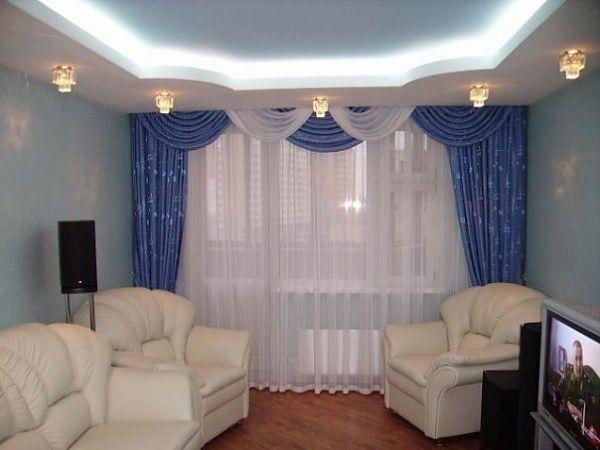 Ремонт зала своими руками в домашних условиях