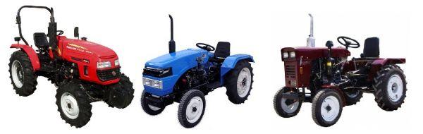 Тракторная техника XINGTAI MAHINDRA FOTON DONGFENG минитракторы навесное и прицпное оборудование
