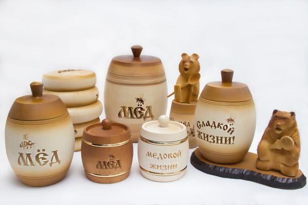Бочонки с медом в подарок 234