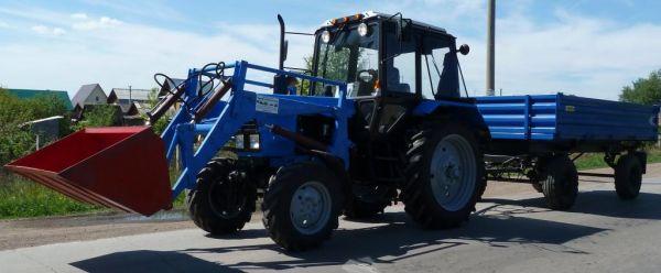 Погрузчик HL-S 70 для трактора МТЗ-82 Belarus