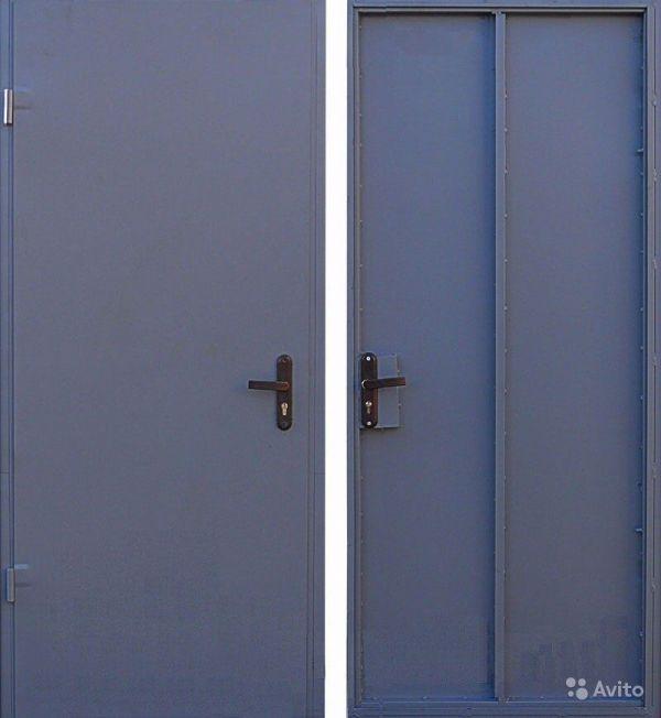 железные технические двери цена