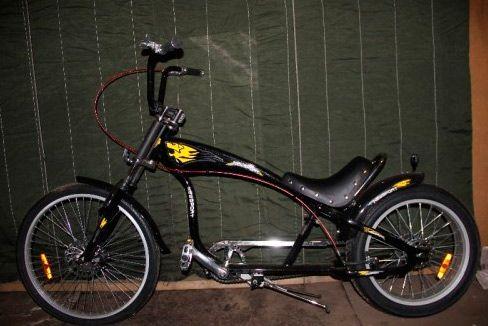 Велосипед как харлей 173