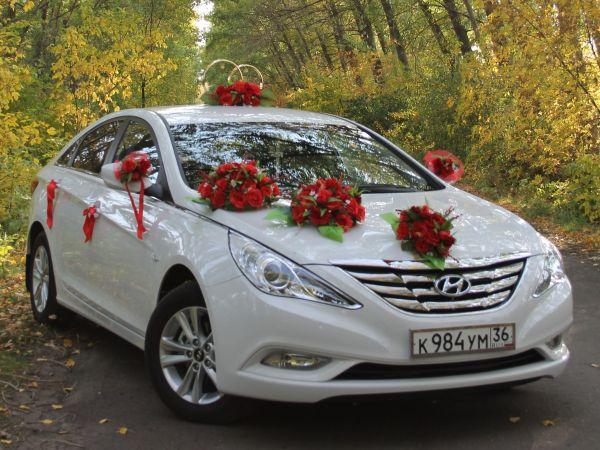 Украшение на авто свадьба фото
