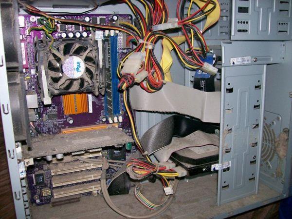 Как сделать компьютер чистый