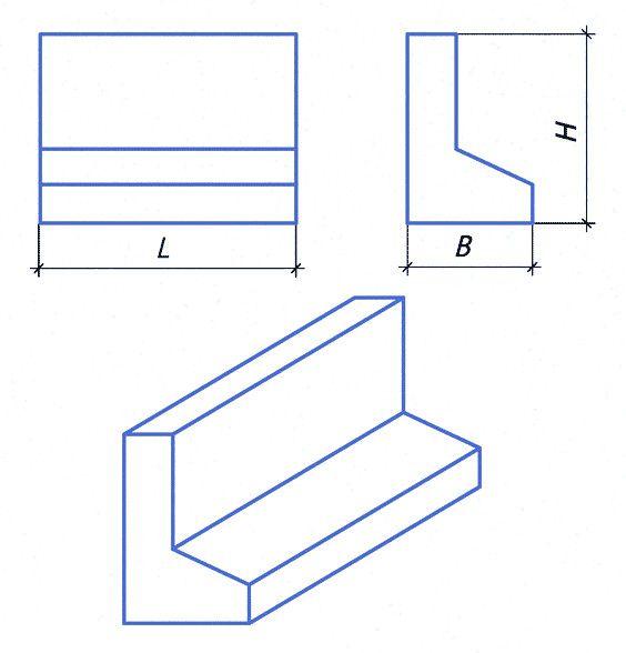 Блоки для подпорных стен купить