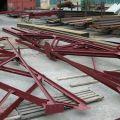 Стальные металлоконструкции: навесы для АЗС. Монтаж