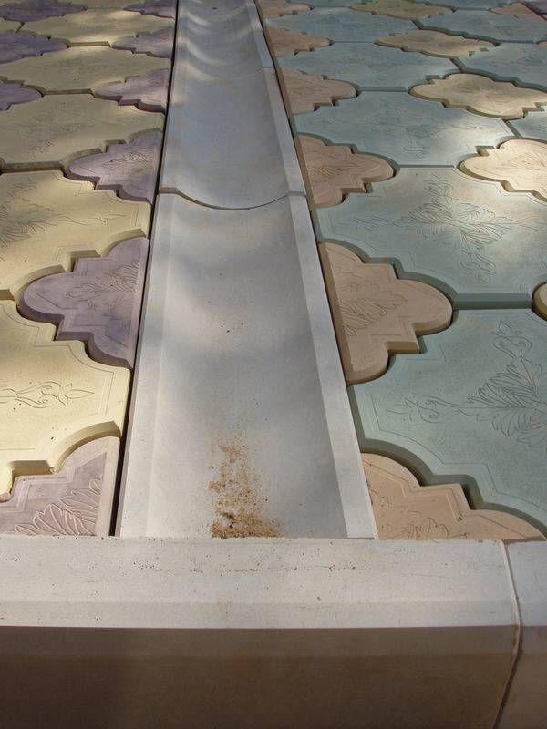 Желоб для водостока своими руками бетонный