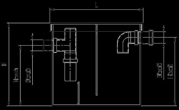 Схема жироуловителя. Принцип