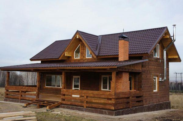 Дома из бруса проекты фото красноярск