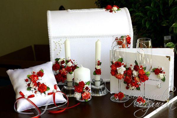 Свадебные набор своими руками