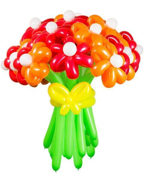 Цветы из шаров и цены