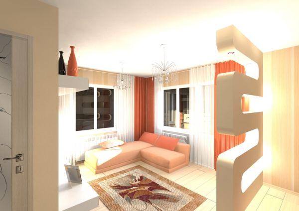 Дизайн квартир однокомнатных эконом класс