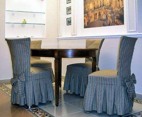 Как пошить чехол для стульев