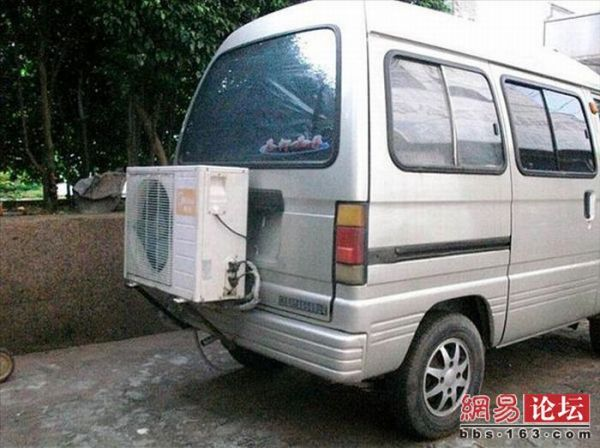 Установка кондиционера в машину